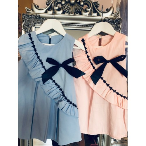 NEW IN Girls Bow Dress